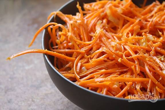 "Салат ""Морковь по-корейски"""