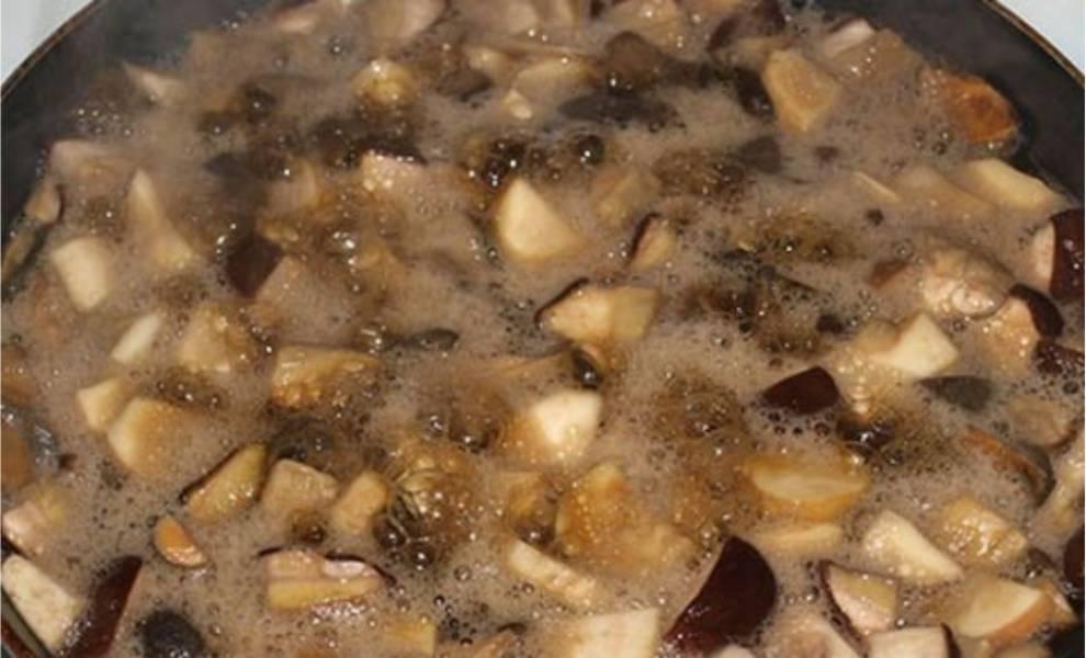 Жареные моховики на зиму - пошаговый рецепт с фото на
