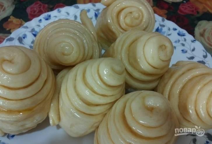 Дрожжевое тесто на пару - пошаговый рецепт