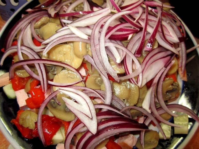 Овчарский салат рецепт