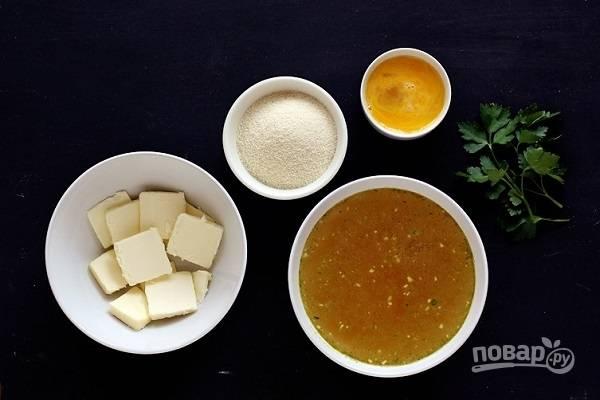 Бульон с клецками - пошаговый рецепт