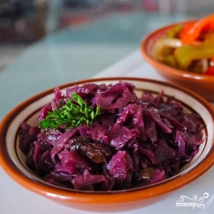 Краснокочанная капуста по-испански - пошаговый рецепт с фото на