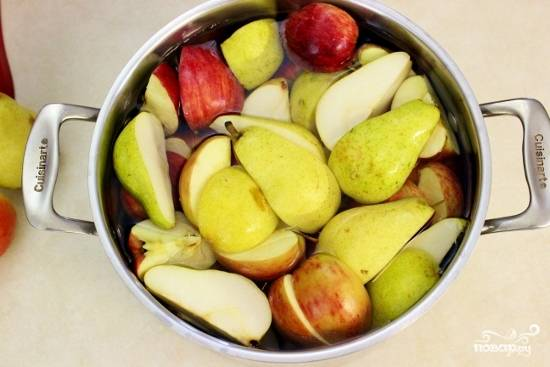 Соус из яблок и груш - пошаговый рецепт с фото на