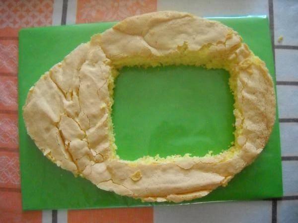Торт - Киндер сюрприз - пошаговый рецепт с фото на