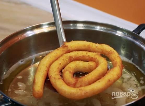 Спиральки из картофельного пюре - пошаговый рецепт с фото на