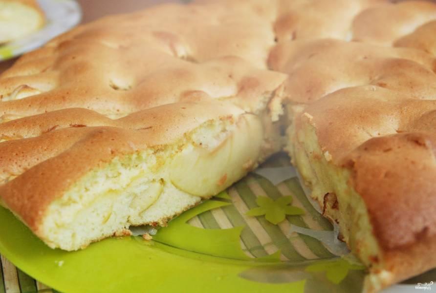 Яблочный пирог за 5 минут