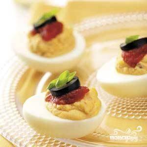 Фаршированные яйца Санта Фе