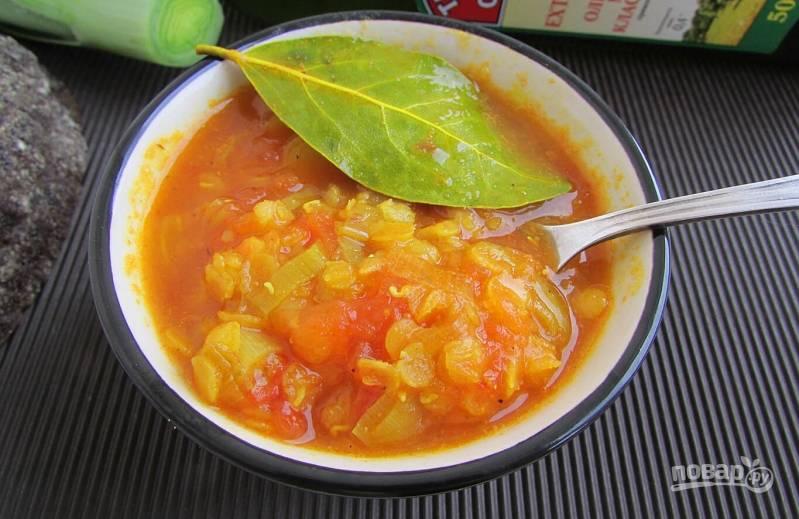 Чечевичный суп от Юлии Высоцкой