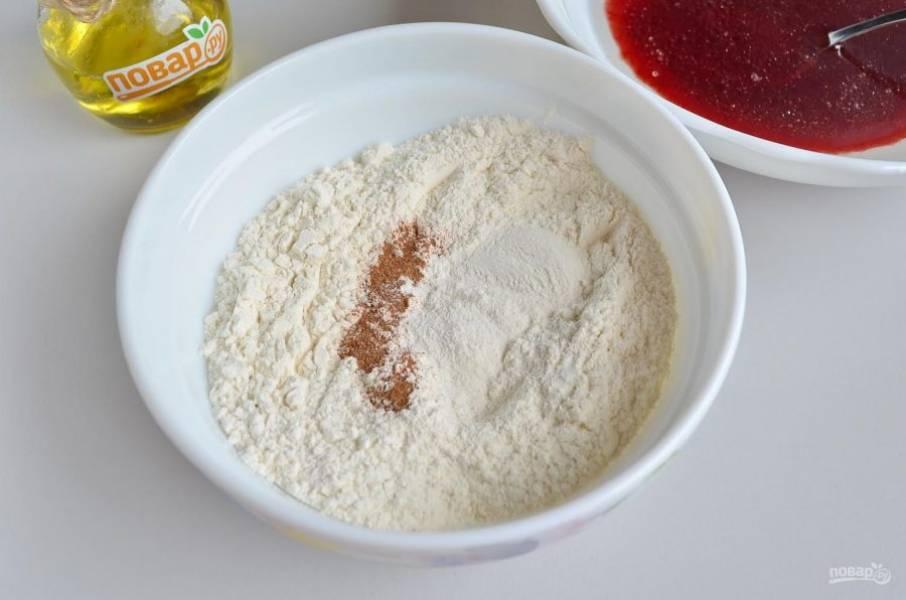 Пирог с вареньем без яиц - пошаговый рецепт