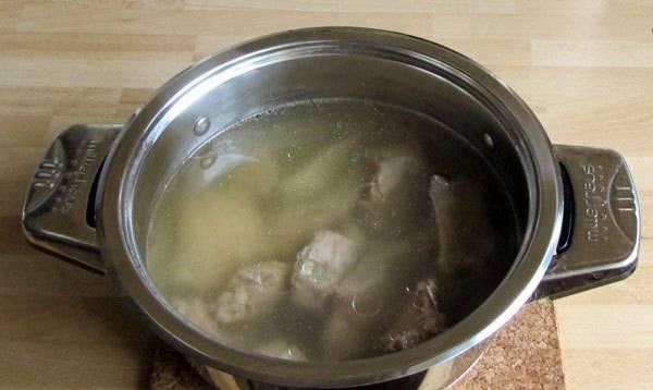 Бульон из баранины с галушками - пошаговый рецепт