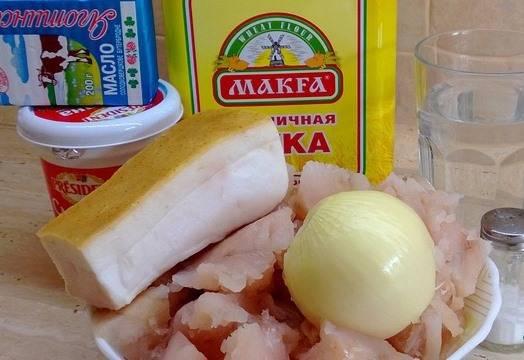 Пельмени из щуки с салом - пошаговый рецепт