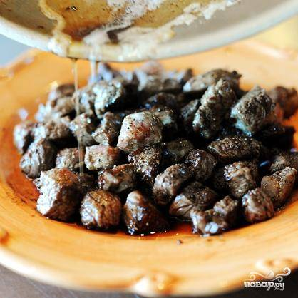 Жареная говядина традиционная - пошаговый рецепт с фото на