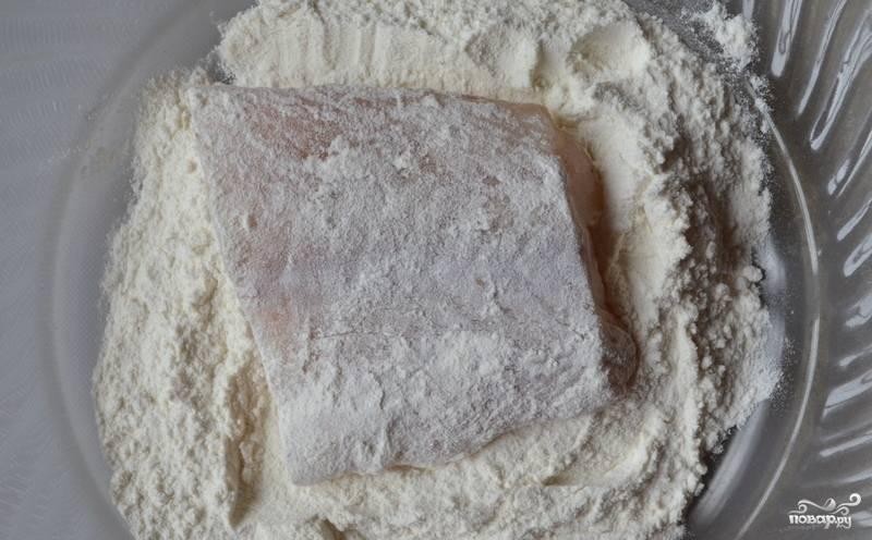Минтай на сковороде - пошаговый рецепт