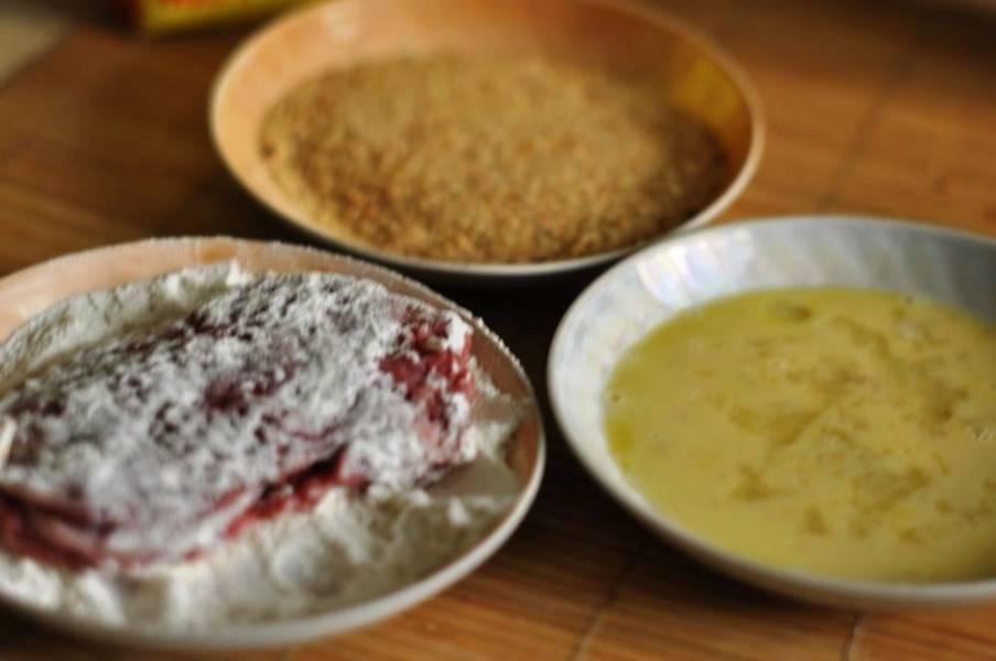 Свинина жареная с сыром - пошаговый рецепт с фото на