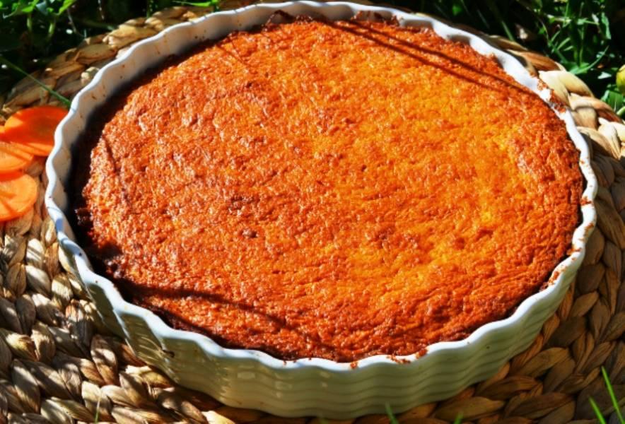 Пирог из моркови - пошаговый рецепт с фото на