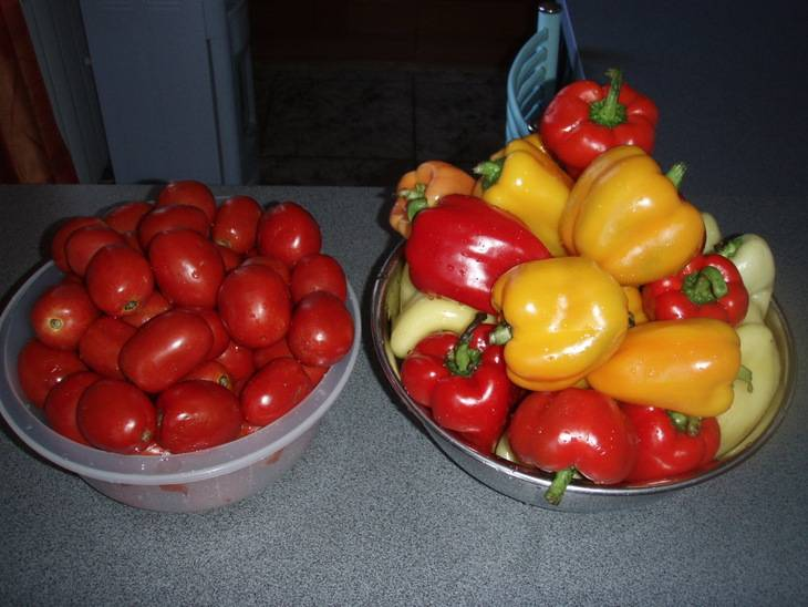 Лечо из помидоров и болгарского перца