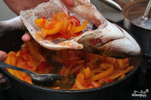 Дорада с овощами - пошаговый рецепт с фото на