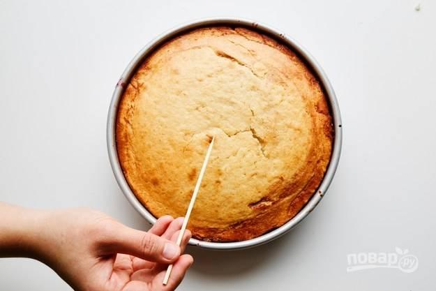 Пирог с вишней в духовке - пошаговый рецепт