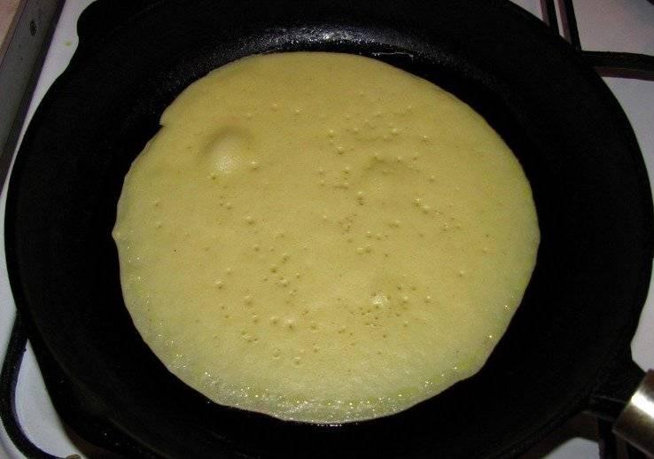 Блины - Mинутка - пошаговый рецепт