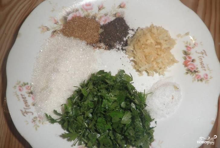 Закатка: синие по-корейски - пошаговый рецепт