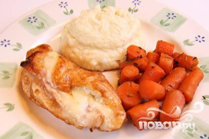 Куриные Кордон Блю - пошаговый рецепт