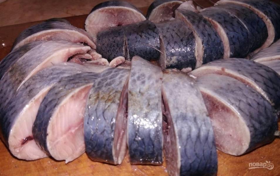 Домашняя рыбная консерва из сельди - пошаговый рецепт