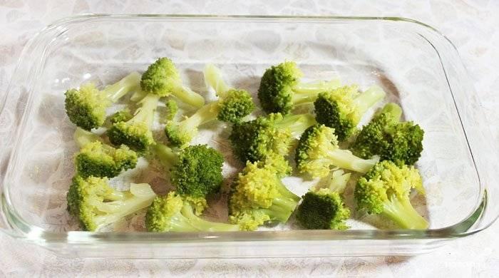 Запеканка с грибами и брокколи - пошаговый рецепт