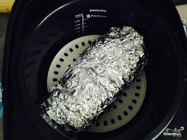 Мясной рулет на пару в мультиварке - пошаговый рецепт