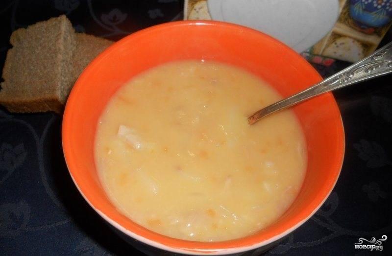 гороховый суп со свиными ребрышками рецепт с фото