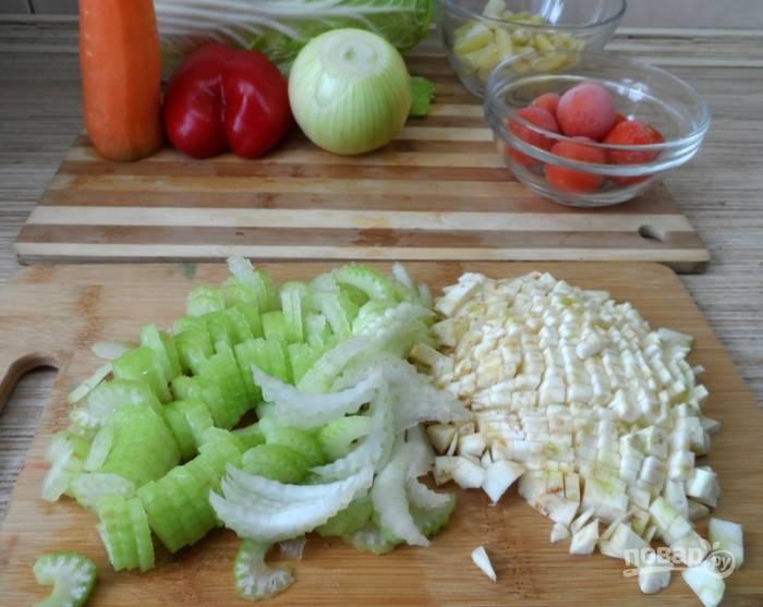 Сельдереевый суп для похудения - пошаговый рецепт с фото на