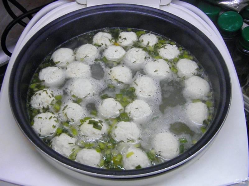 Суп с куриными фрикадельками - пошаговый рецепт с фото на