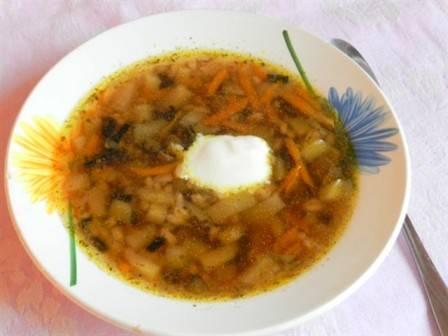 Грибной суп из сушеных грибов в мультиварке - пошаговый рецепт