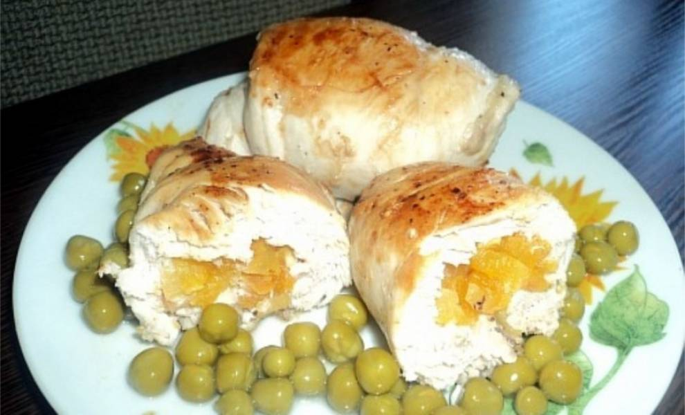 Курица с курагой - пошаговый рецепт с фото на