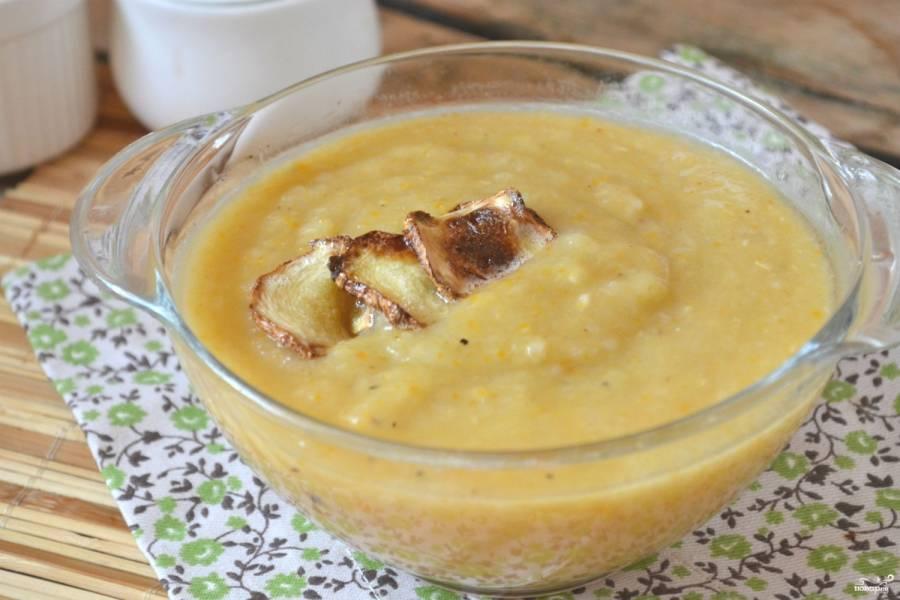 Суп из кабачков и картофеля