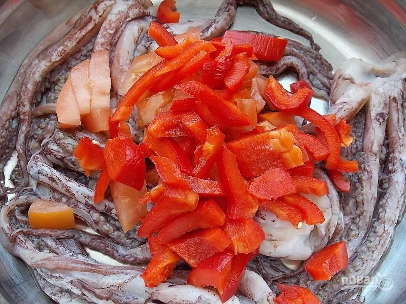 Щупальца кальмара в банке - пошаговый рецепт