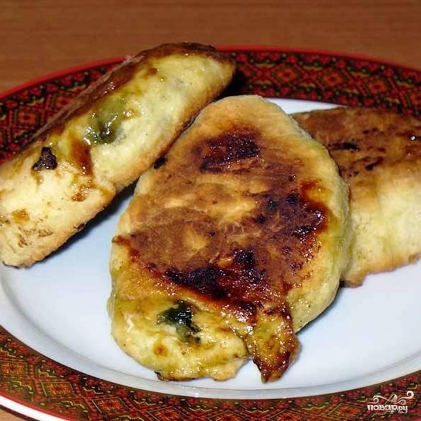 Пирожки со щавелем - пошаговый рецепт с фото на