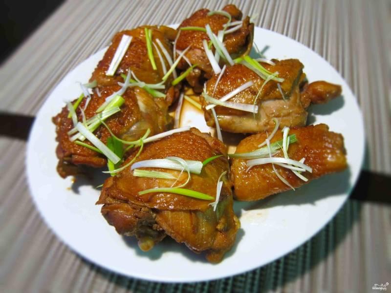 Куриные бедрышки в соевом соусе