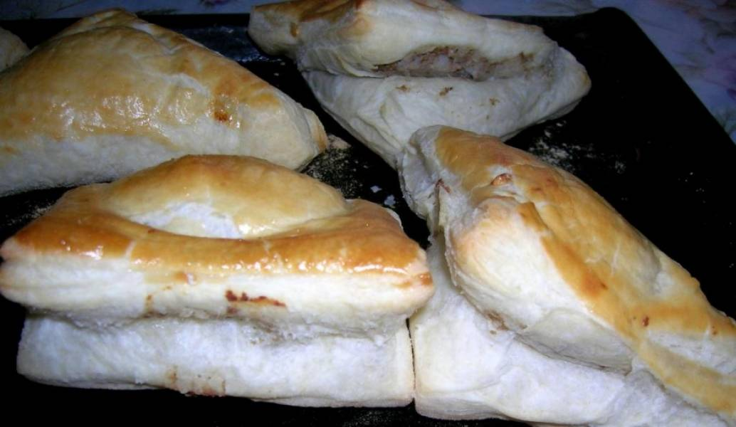 Блюда из бездрожжевого теста рецепты с фото