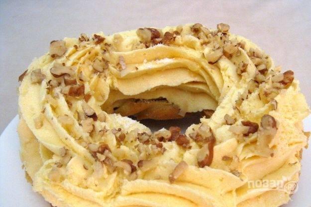 Крем для украшения тортов - пошаговый рецепт