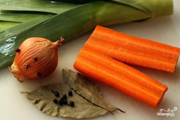 Говяжий бульон - пошаговый рецепт