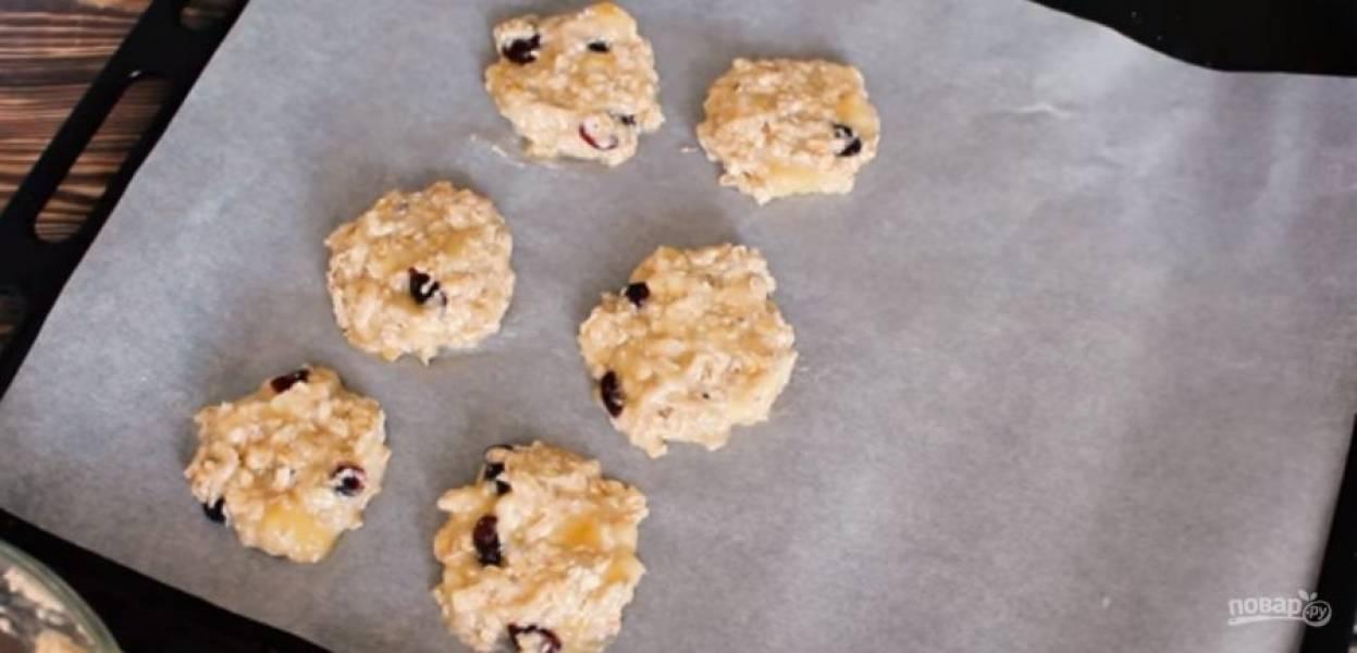 Овсяное печенье за 15 минут - пошаговый рецепт с фото на