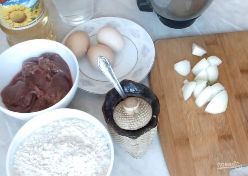 Рецепт блинов из печенки - пошаговый рецепт