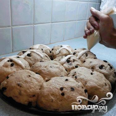 Булочки на Пасху - пошаговый рецепт с фото на