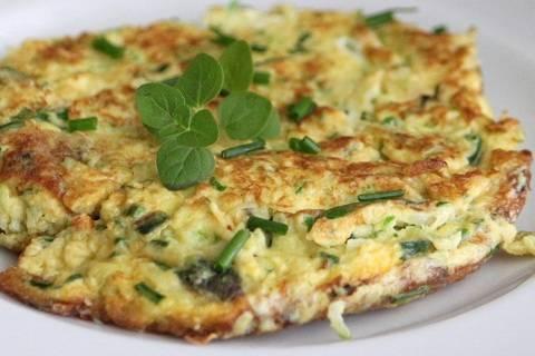 Омлет с зеленью - пошаговый рецепт с фото на