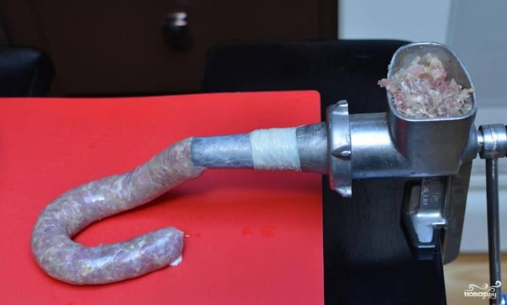 Домашние колбаски - пошаговый рецепт