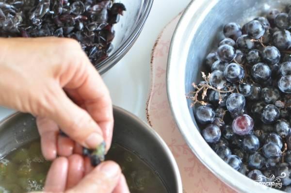 Джем из винограда - пошаговый рецепт с фото на