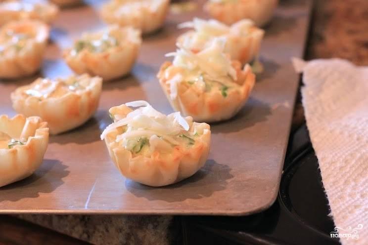 Тарталетки с горбушей - пошаговый рецепт с фото на