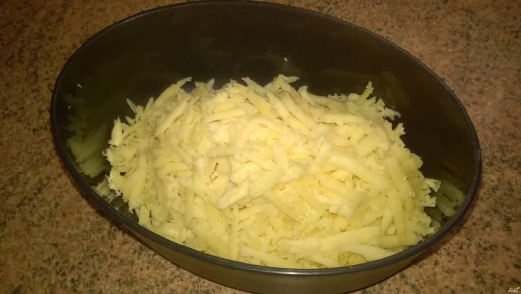 Запеченный картофель с грибами - пошаговый рецепт с фото на