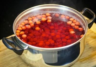 Компот из замороженной вишни - пошаговый рецепт с фото на