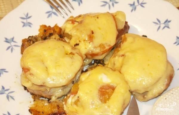 Рецепт свинина с сыром в мультиварке рецепты